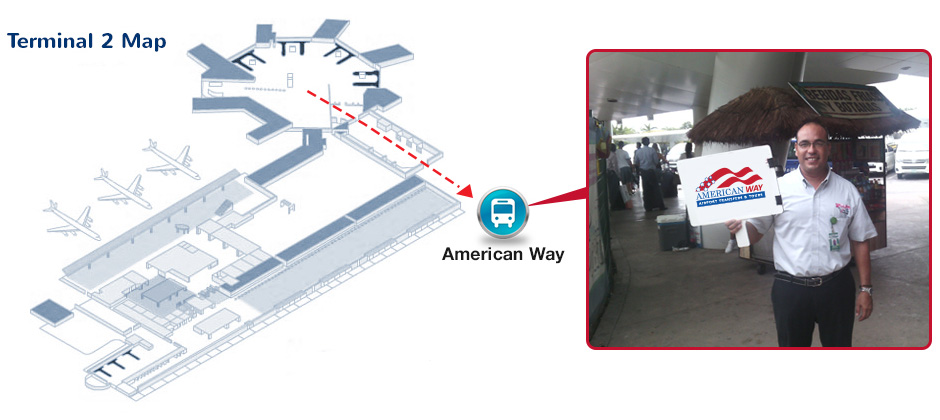 Airport International Terminal 2 Cancun