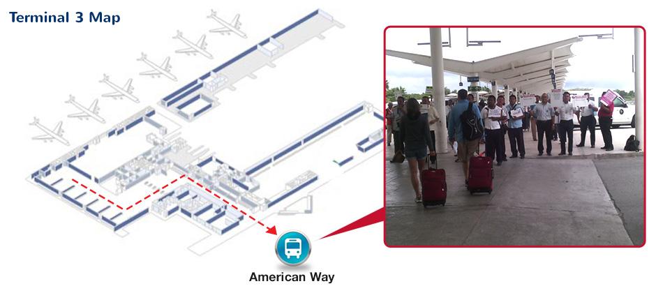 Airport International Terminal 3 Cancun