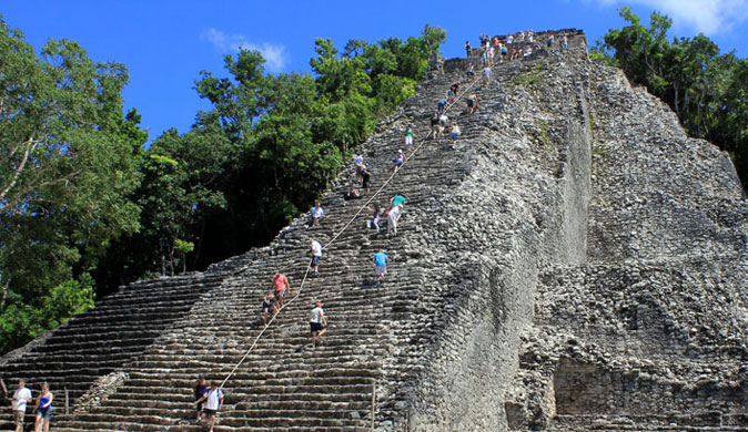 Chichen Itza Cenote Ikil and Coba PrivateTour