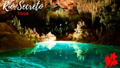 Rio Secreto Playa del Carmen Tour