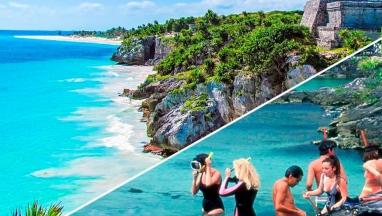 Xel Ha and Tulum Tour (HIGH SEASON)