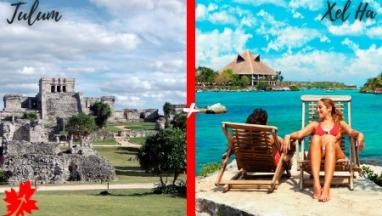 Tulum y Xel ha en excursion privada