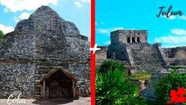 Tulum y Coba en excursion privada