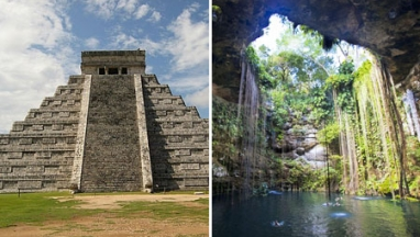 Chichen itza y cenote ik kil en excursion privada