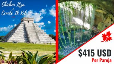 Chichen itza y Cenote en excursion privada