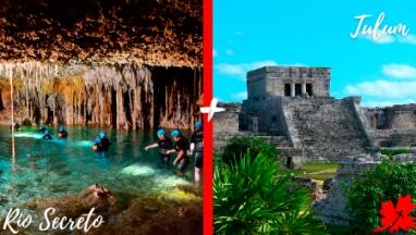 Tulum and Rio Secreto private tour