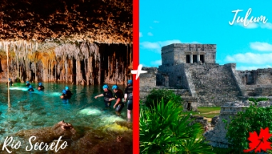 Tulum y Rio Secreto en excursion privada