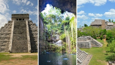 Chichen itza, cenote ik kil y Ek balam en excursion privada