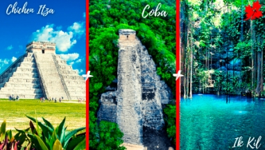 Chichen Itza and Coba Tour