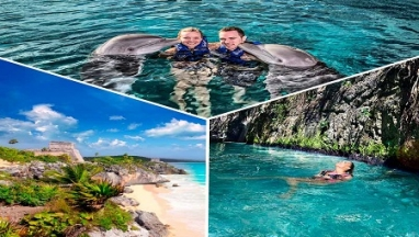 Tulum y Xcaret Plus en excursion privada
