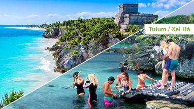Tulum y Xel ha en excursion