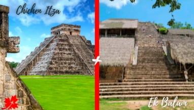 Chichen itza y Ek balam en excursion privada