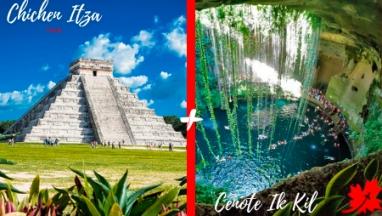 Chichen Itza and Cenote Ik Kil private tour